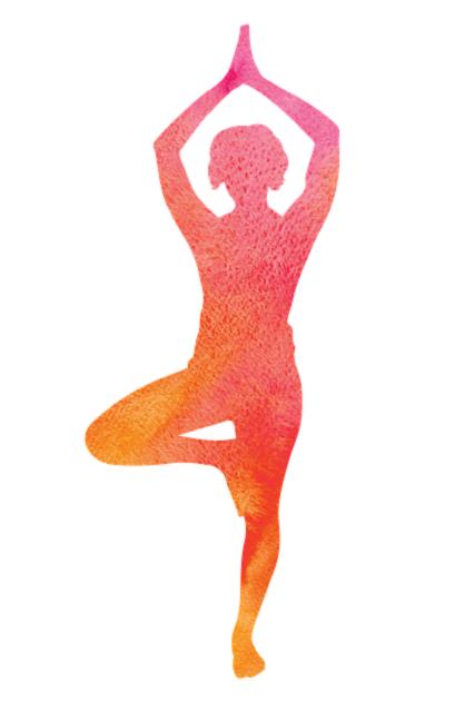 yoga staande op 1 been